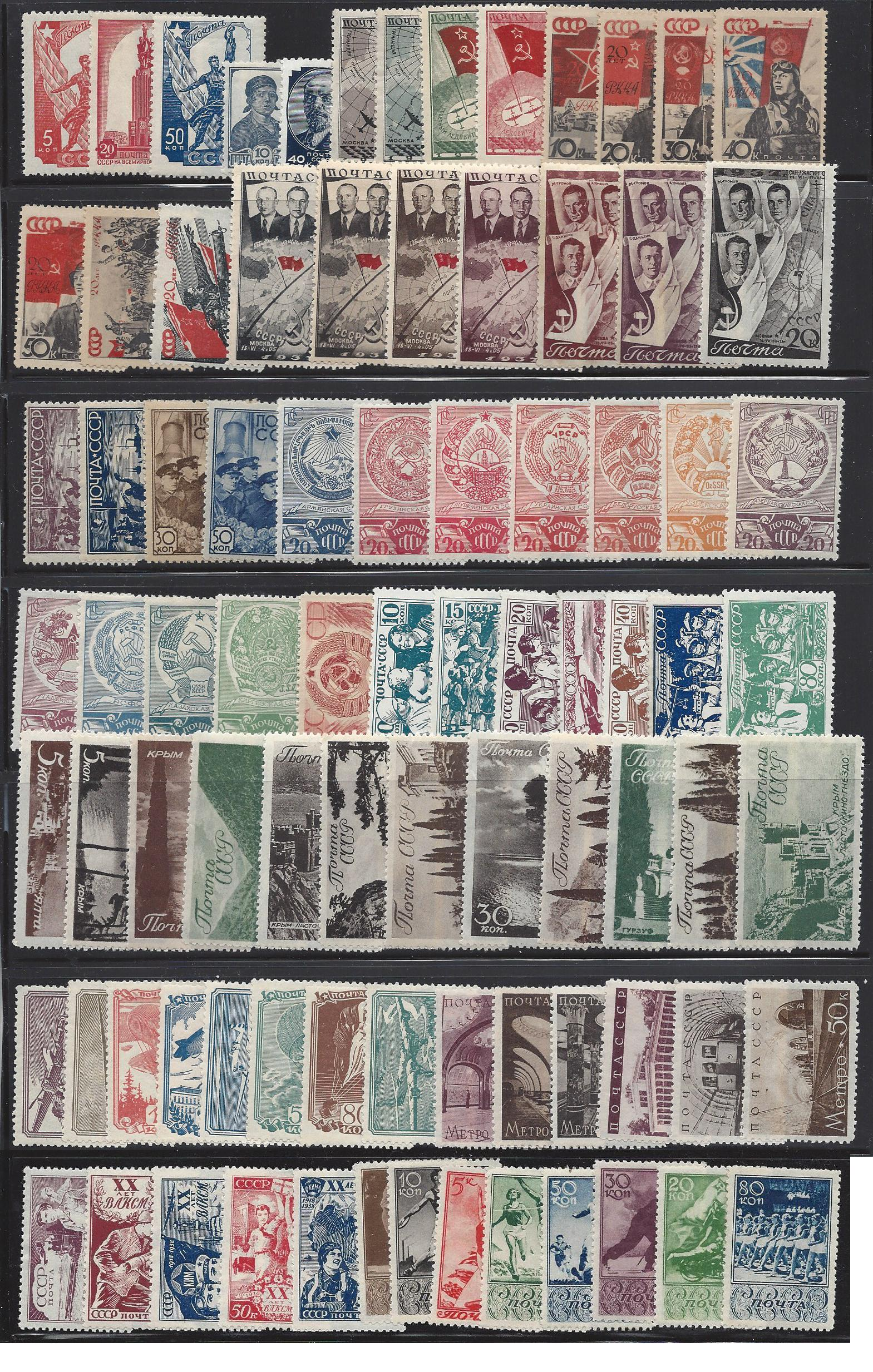 Russia - Year Sets
