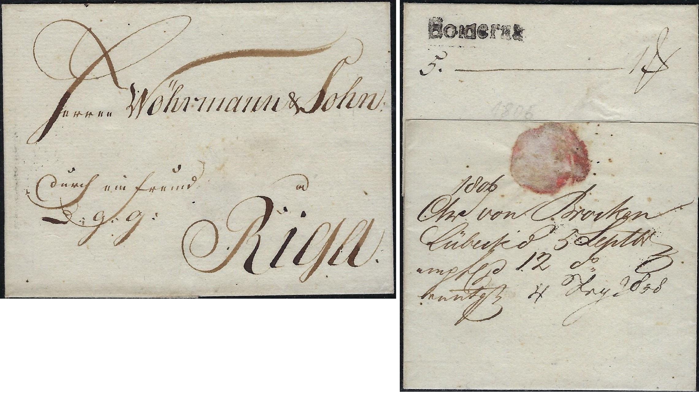 Russia Postal History - Stampless Covers Scott 1051806
