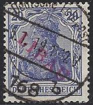Russia Stamps-German Occupation WW1 Libau Scott 1N4
