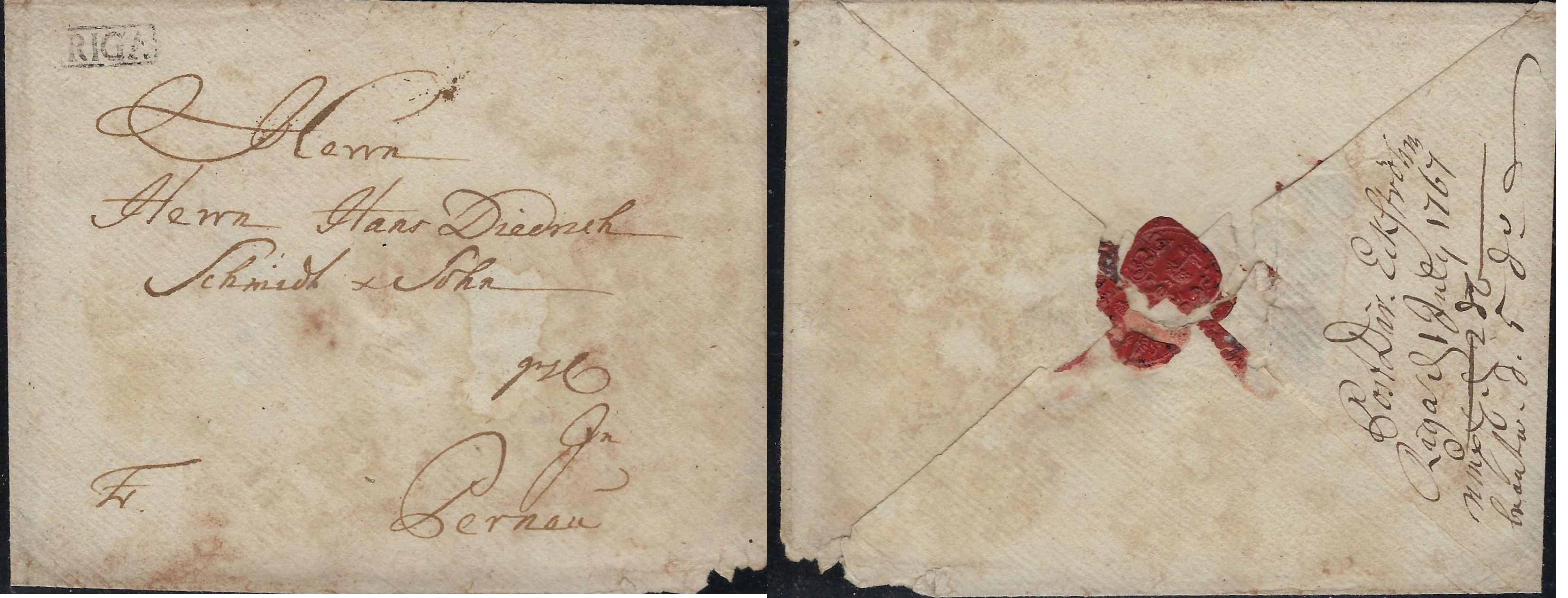 Russia Postal History - Stampless Covers Scott 3001767