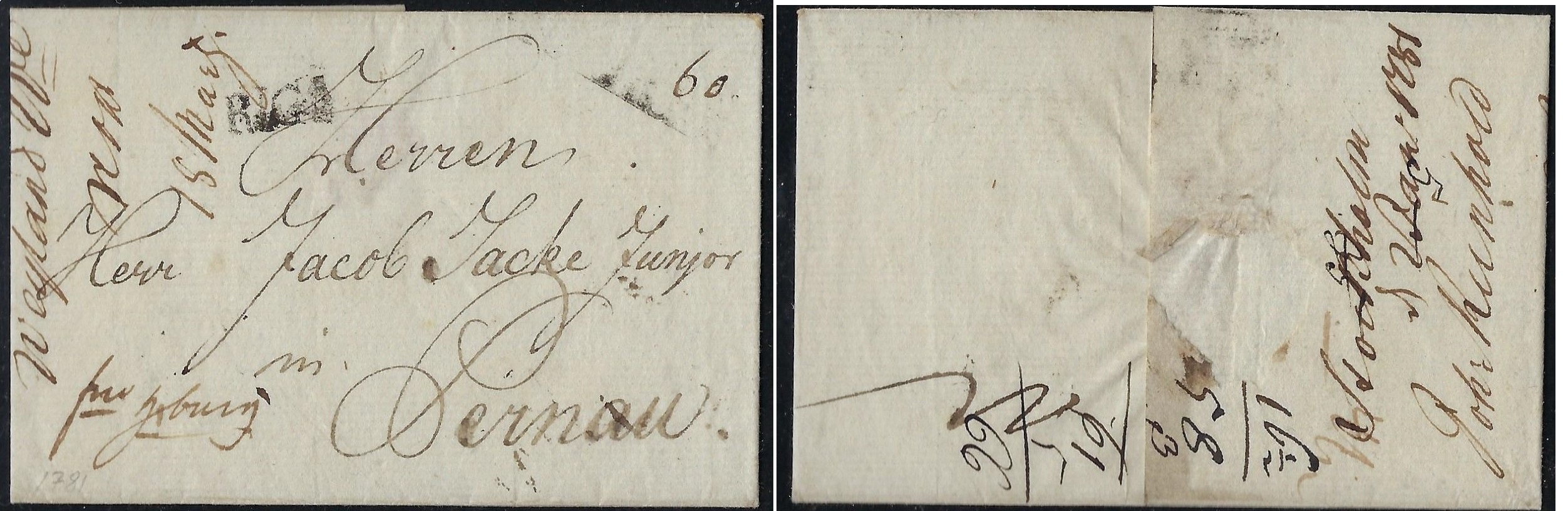Russia Postal History - Stampless Covers Scott 3001781
