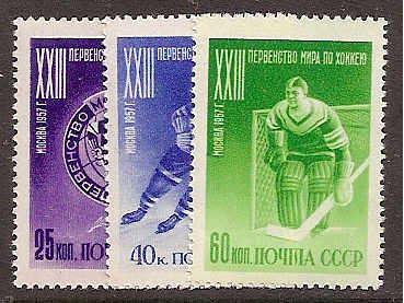 Soviet Russia - 1957-1961 YEAR 1957 Scott 1910-12 Michel 1919-21