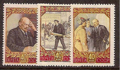 Soviet Russia - 1957-1961 YEAR 1957 Scott 1933-5 Michel 1937-9