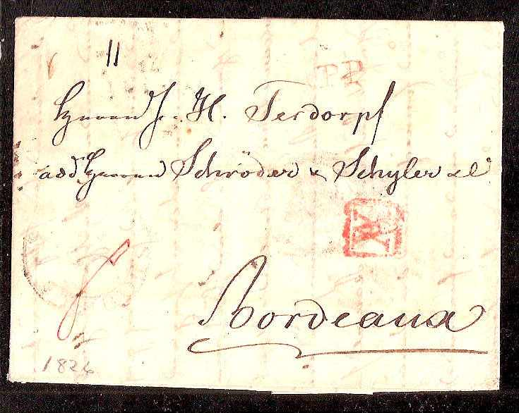 Russia Postal History - Stampless Covers ST.PETERSBURG Scott 4001826