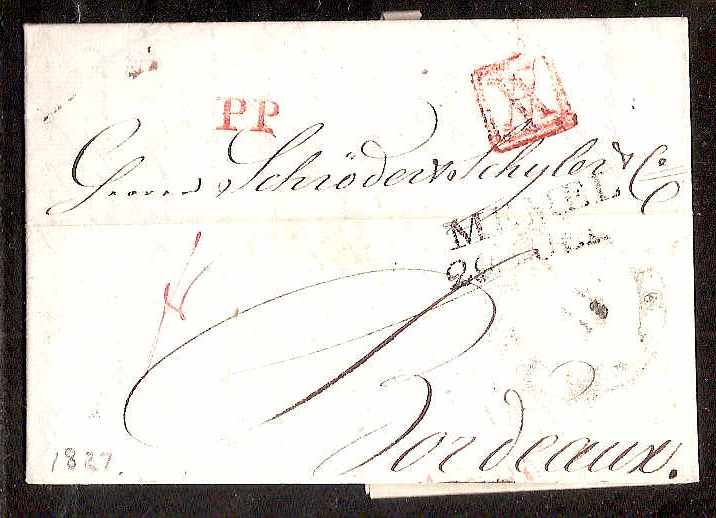 Russia Postal History - Stampless Covers ST.PETERSBURG Scott 4001827