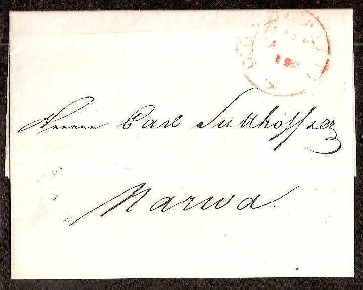 Russia Postal History - Stampless Covers ST.PETERSBURG Scott 4001824