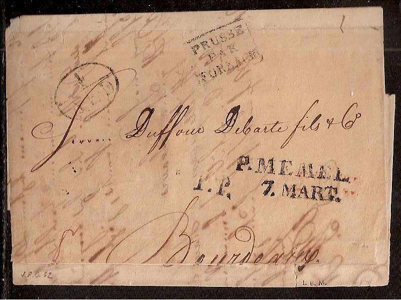 Russia Postal History - Stampless Covers ST.PETERSBURG Scott 4001832