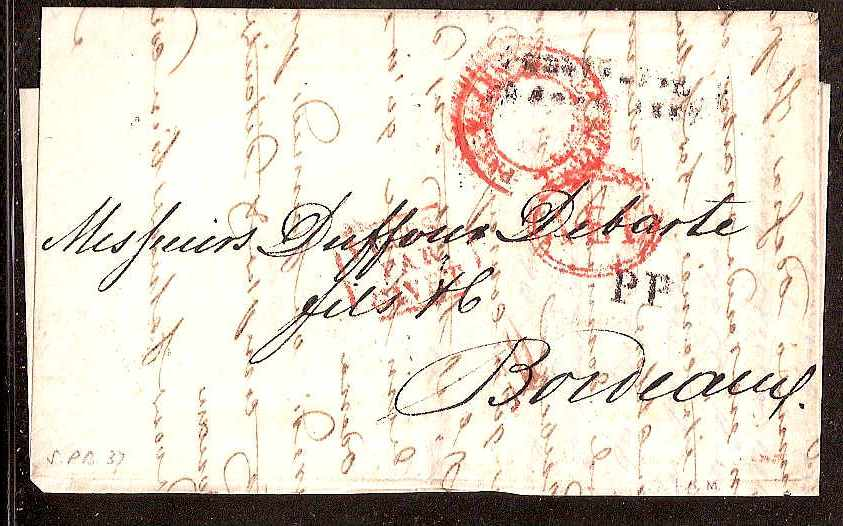 Russia Postal History - Stampless Covers ST.PETERSBURG Scott 4001837