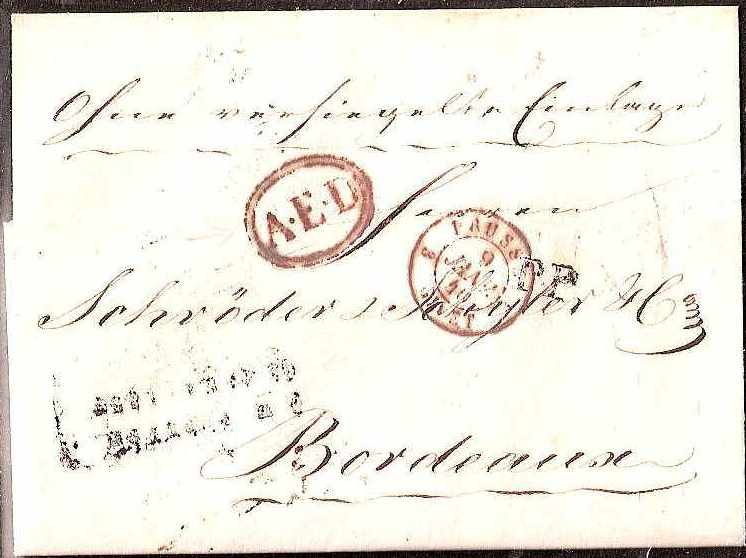 Russia Postal History - Stampless Covers ST.PETERSBURG Scott 4001839