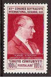 Turkey Scott B54-68