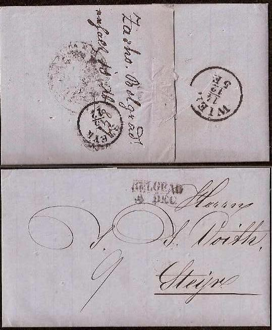 Russia Postal History - Disinfected Mail DISINFECTED MAIL